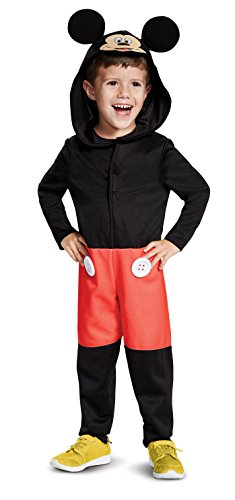 Disguise Mickey Mouse Toddler Child Costume, Red, -