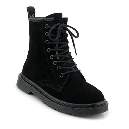 Heel Heel Boots Winter Low Autumn And Students Single Women'S Round black Boot vn6YvUw0xq