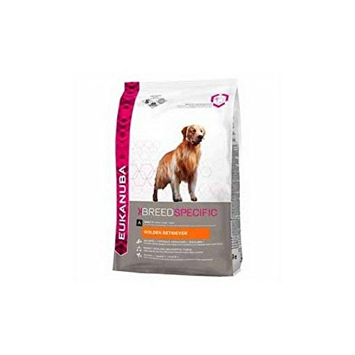 Eukanuba golden Retriever Adult Dog Food (12kg) (Pack of 4)