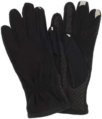Isotoner Women's Smartouch Tech Stretch Glove, Black, Medium/Large
