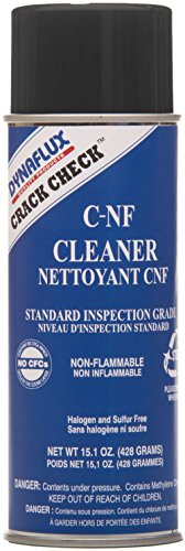 Dynaflux CNF315-16 Crack Check Red Dye Standard Non-Flammable Cleaner, Class 1, 15.1 oz Aerosol Can (Pack of 12) ()