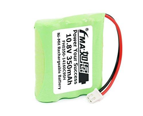 2Pcs 10 8V 350Mah Doppler Fetal Heart Detector Battery