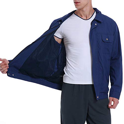 2019 UV Resistant Double Fan Jacket, Workwear Equipped Cooling Vest Fan with Battery Pack for Summer Outdoors Air-Conditioned Long Sleeve Top Unisex Available