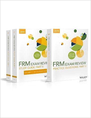 Buy Wiley 2019 Part II FRM Exam Study Guide & Practice