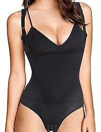 Women Full Body Shaper Waist Trainer Cincher Corset Shapewear Bodysuit Tummy Underwear for Control