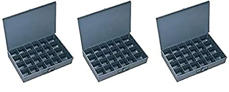 20 Compartment Insert Gray Durham 229-95-20-IND Small