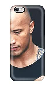 Sanp On Case Cover Protector For Iphone 6 Plus (dwayne Johnson)