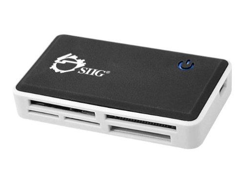 SIIG USB 2.0 Multi-Slot Card Reader/Writer (JU-MR0C12-S1)
