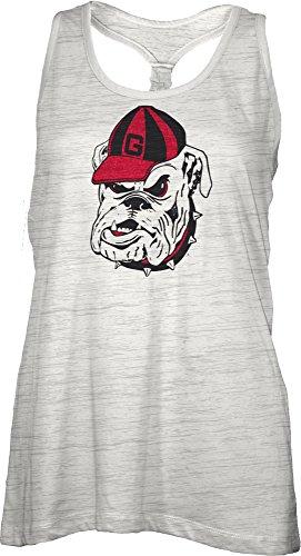 NCAA Georgia Bulldogs Bernice Tank Top, Small
