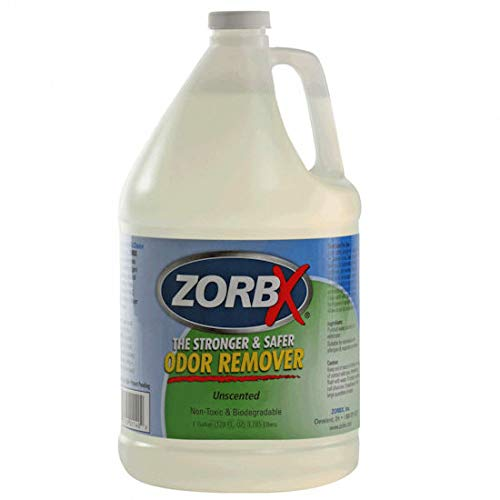 ZORBX Unscented Multipurpose Odor Remover -Safe for All, Even Children, No Harsh Chemicals, Perfumes or Fragrances, Stronger and Safer Odor Remover Works Instantly (1 Gal)