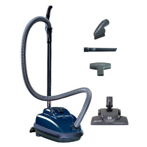 Sebo Vacuums 9679AM Airbelt K2 Kombi Canister Vacuum, Dark Blue - Corded (Upright Cleaners Vacuum Sebo Nozzle)