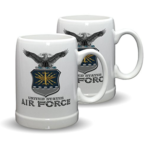 United States Air Force Honor Guard (SET OF 2 United States Air Force MCMXLVII 20 Ounce Stoneware Stein)