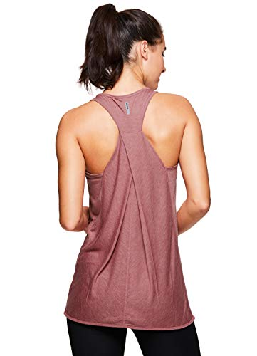 (RBX Active Women's Yoga Workout Tank Top Pink Moscato S19 L)