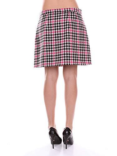 Donna Couture Nero Bianco Gonna E Moschino Fucsia A01085416 gpT7qzS