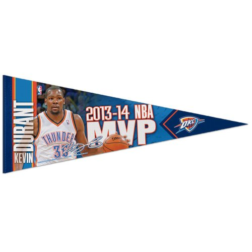 Oklahoma City Thunder Official NBA 29 inch Long Premium Felt Pennant by Wincraft by WinCraft