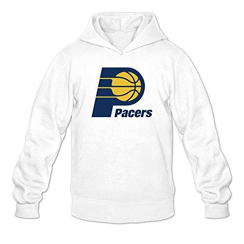 Men's Monta Ellis Detroit Piston Team Logo Hooded Sweatshirt White