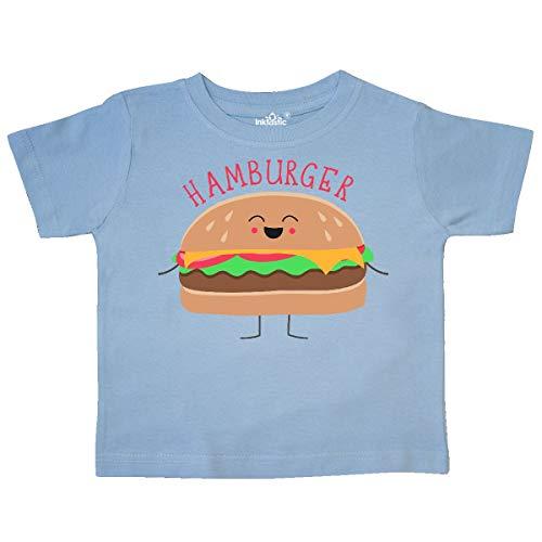 inktastic - Hamburger Costume Toddler T-Shirt 2T Light Blue -