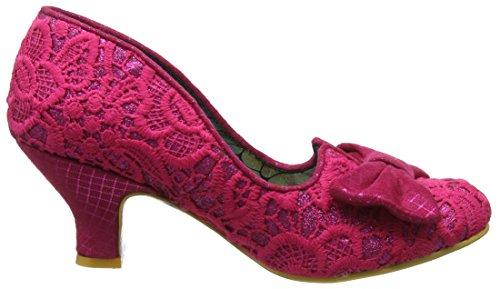 Cerrada Dazzle Pink Mujer Razzle Punta Rosa con de Aw Tacón para Choice Zapatos Irregular 6qwaHw