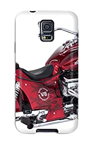 Sanp On Case Cover Protector For Galaxy S5 (motorcycles Boss Hoss)