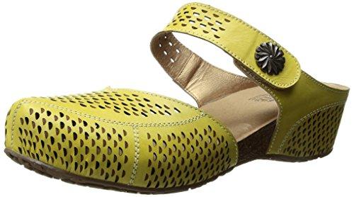 L'Artiste by Spring Step Women's Spoorti-y Mule Yellow