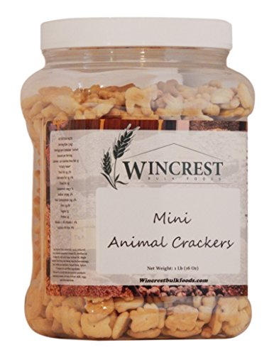 Mini Animal Crackers - 1 Lb (16 Oz) ()