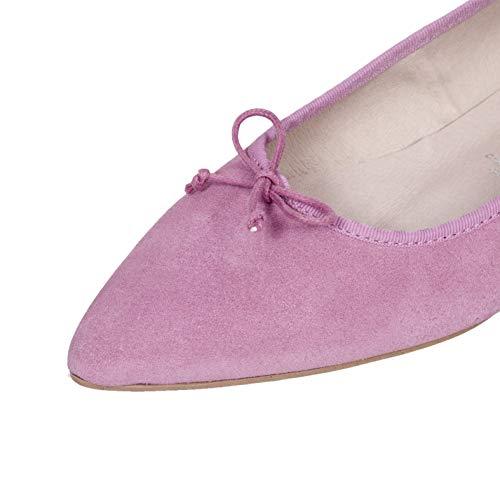7785554efe1 Cómodo Gota Gel Tacón Manoletinas Mujer Con Bailarinas En Mujer España  Zapatos Confort Rosa Hechos Zapato Piel Mimao Plantilla wPxWCWqA6