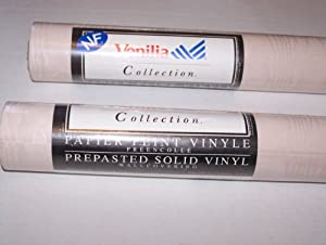 Venilia prepasted solid vinyl wallcovering for Solid vinyl wallcovering