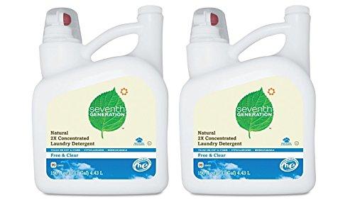 Seventh Generation - Free & Clear Liquid Laundry 2x Ultra Co