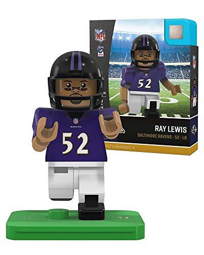 Ray Lewis [Legend] OYO Baltimore Ravens Generation 4 G4 Minifigure