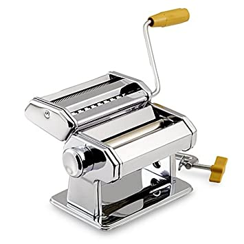 amazon com my perfect kitchen pasta machine with adjustable rollers rh amazon com