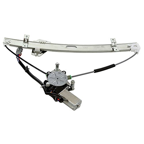 Front Left Driver Side Power Window Regulator with Motor for 2001 2002 2003 2004 2005 Honda Civic Sedan 4-Door 4 Door Window Motor Regulator