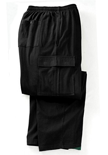 Kingsize Mens Lightweight Cargo Sweats