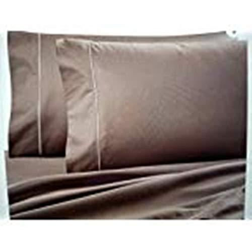 Ultra SOFT Sateen Pima Cotton 725 thread count flat sheet (Queen, Toupe)