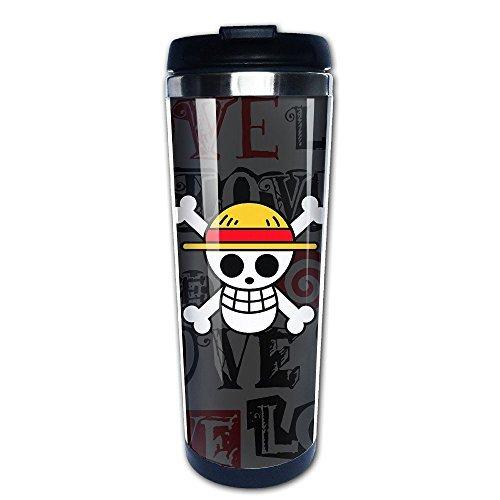 QIDAMIAO One Piece Logo Vacuum Cup Coffee/Travel Mugs