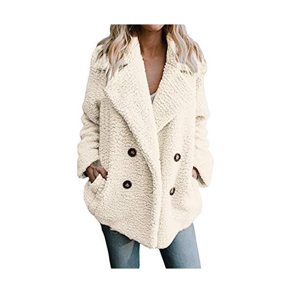 XOWRTE Women's Solid Winter Warm Parka Jacket Ladies Overcoat Outercoat Outwear Coat