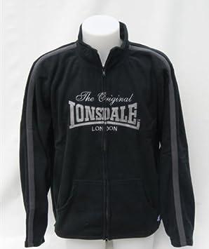 Mens Lonsdale Tracksuit Top Size L Men's Clothing