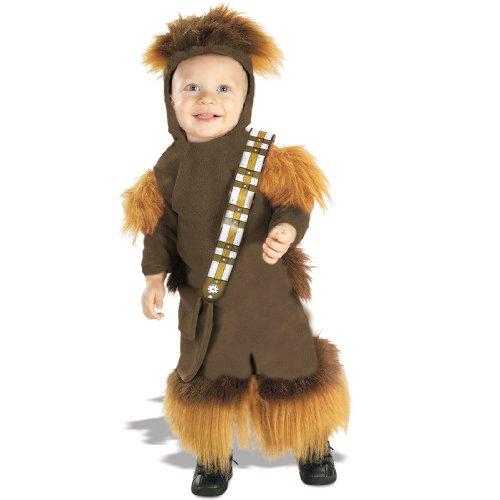 Chewbacca EZ-On Romper Baby Infant Costume - (Chewbacca Baby Costume)