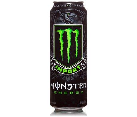Monster Energy Drink - Import - 4 Pack (Energy Drink Monster Import)