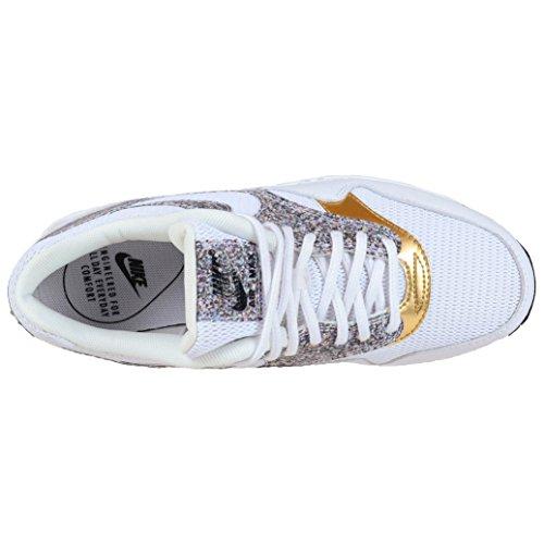 Nike Kvinders Air Max 1 Se Afslappet Sko Hvid / Hvid-sort yP5miRikg