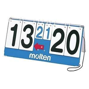 Molten - Marcador portátil (números giratorios), color azul