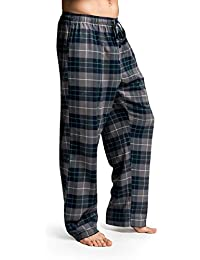 d9eb971fa20c CYZ Men s 100% Cotton Super Soft Flannel Plaid Pajama Pants