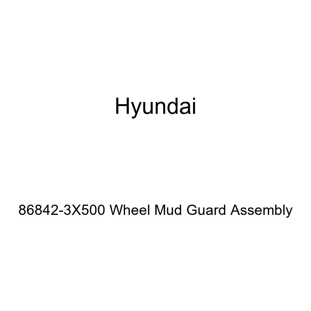 Genuine Hyundai 86842-3X500 Wheel Mud Guard Assembly