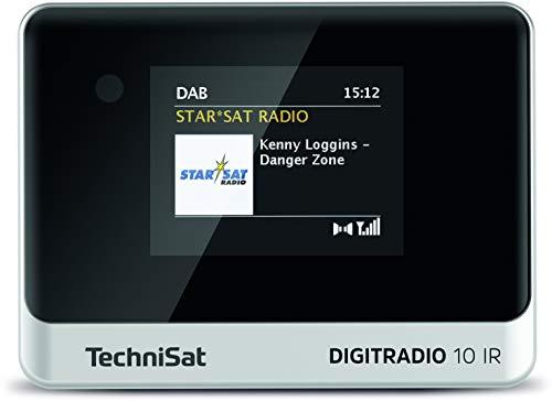 TechniSat DIGITRADIO 10 IR – Stereo-tuner met internetradio, DAB+, WLAN, kleurenscherm, bluetooth, afstandsbediening…
