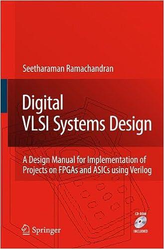 Digital VLSI Systems Design: A Design Manual for