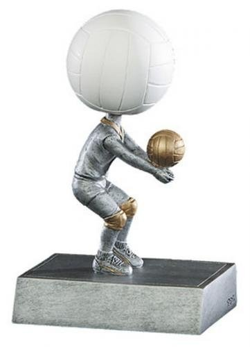 Decade Awards Volleyball Bobblehead Trophy | Volley