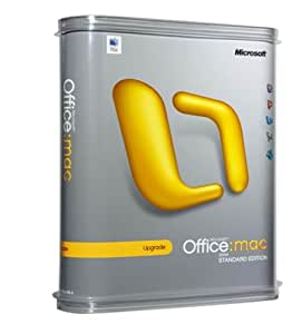 Microsoft Office 2004 for Mac Standard (Upgrade) [Old Version]