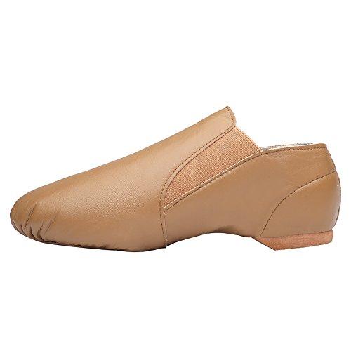 CIOR Leather Jazz Dance Shoes Slip-On(Women/Toddler/Little Kid/Big Kid/Men S4rhnJ9rC
