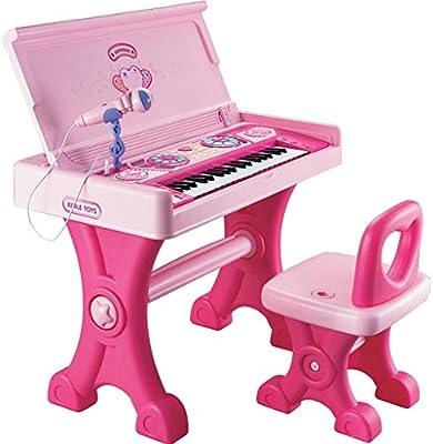 Puzzle de Piano Niños Grandes Teclado Chica Juguete Mesa De ...