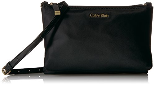 Calvin Klein Lucy Nylon Top Zip Crossbody