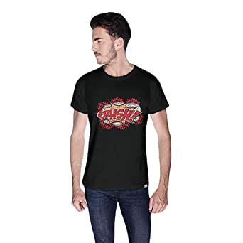 Cero Crush Retro T-Shirt For Men - L, Black